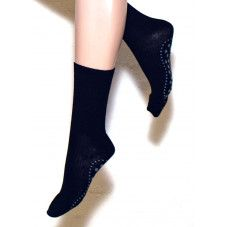 Ulla Black Wool -liukumattomat sukat