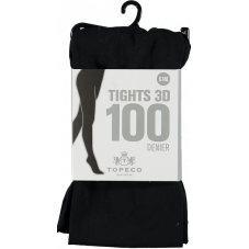 Tights 3D Black